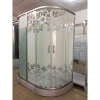 Buy cheap maple leaf shower cabin with tray , bathroom shower cubicles 90X90x195/cm from Wholesalers