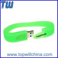 Buy cheap Delicate Silicone Portable Wristband 16GB USB Flash Drive Fashion Design from Wholesalers