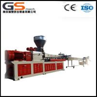 PET Bottle Flakes Plastic Recycling Extruder With Twin Screw Granules Making Machine for sale