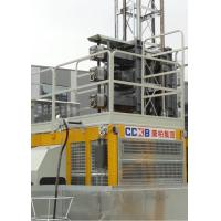 China FC Motor Control Building Site Hoist Rack And Pinion Type SC320/320 With Closed Loop for sale