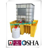 Buy cheap IBC Tank Storage Safety Spill Pallet, PE Spill Containments For IBC Tank Storage from wholesalers