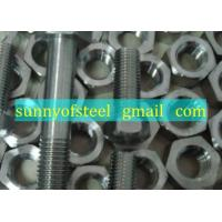 Wholesale monel UNS N05500 fastener bolt nut washer gasket screw from china suppliers
