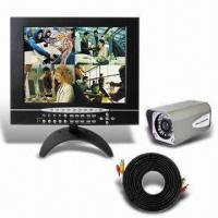 Wholesale 15-inch 4CH LCD/DVR Combo with Built-in IR LED, Supports Audio and DDNS from china suppliers