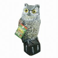 Buy cheap Plastic Owl Decoy for Hunting/Garden Decoration, Simulation Animals, Blow Molding from wholesalers