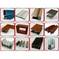 Wholesale Powder Coated Surface Aluminium Door Profiles With 1.2mm Thickness 6 Meters Length from china suppliers
