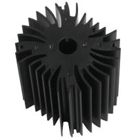 Wholesale Drilling Bronze Aluminum Notebook Cooler Heatsink Extrusion Profiles Industrial With CNC Machining from china suppliers