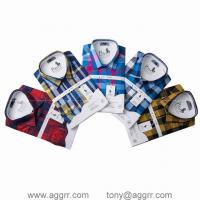 Wholesale POLO long sleeve shirts men shirts plaid shirt designed shirts from china suppliers