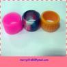 Unique cool customized silicone finger bracelet for sale