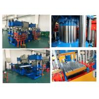 Buy cheap Large 200 Ton Rubber Vulcanization Molding Machine Energy Efficiency from wholesalers