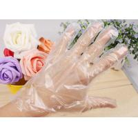 Quality Disposable PE gloves/plastic gloves /cleaning gloves . for sale