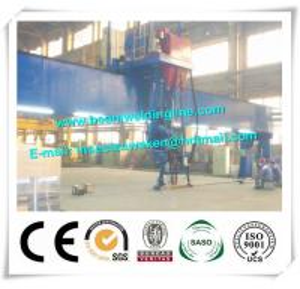 China Shipbuilding Steel Butt Longitudinal Seam Welding Machine 10 - 35mm Plate on sale