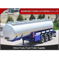Wholesale 3 Axles 42 CBM Fuel Tanker Semi Trailer  FUWA axles diesel tanker trailer for sale from china suppliers