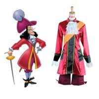 Wholesale Prince costumes Wholesale Custom Made Peter Pan Captain Hook Cosplay Costume from china suppliers