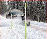 Quality FRP Fiberglass rods applied as snow road marker, driveway marker, hydrant marker for sale