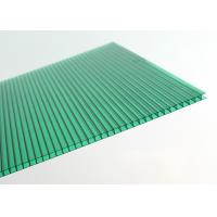 China Recyclable Polycarbonate Conservatory Roof Panels With Double Hollow Wall for sale