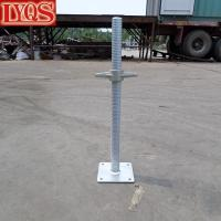 Buy cheap Scaffold Galvanized Steel Hollow Screwjack w/ Forged Nut from wholesalers