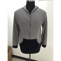 Wholesale Long Sleeve Men Knit Sweater Men Hooded Sweater For Autumn / Winter from china suppliers