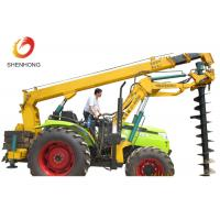 Wholesale 100HP 8 Ton Tractor Crane Tower Erection Tools With Earth Auger from china suppliers