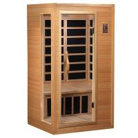Wholesale One Person Portable Sauna Room Indoor Luxury Infrared Sauna Steam Room from china suppliers