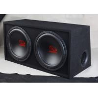 China Single Coil Double Car Subwoofer Box , Car Radio Boombox With Subwoofer on sale