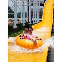 Wholesale High Speed Fiberglass Water Slides / Ashland Gel Coat Outdoor Pool Slides from china suppliers