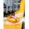 Buy cheap High Speed Fiberglass Water Slides / Ashland Gel Coat Outdoor Pool Slides from wholesalers