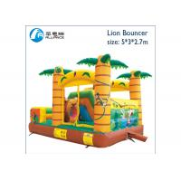 China tropical forest small bouncy castle air jumping castle on sale