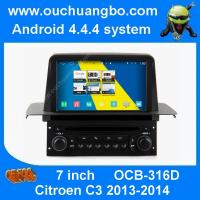 Wholesale Ouchuangbo S160 Citroen C3 2013-2014 multimedia gps radio stereo android 4.4 with 4 core from china suppliers
