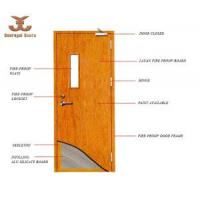 China Fire Rated Wood Door (JFD-814) on sale
