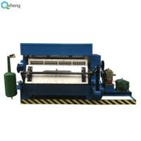 China Waste Paper Semi Automatic Egg Tray Machine High Performance With Dry System on sale