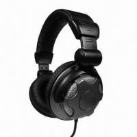 Buy cheap DJ Headphones in Red/Green/Black, Surround Bass Sound, Comfortable, Customized from wholesalers