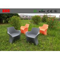 Wholesale One Seat Light Weight Plastic Outdoor Furniture Patio Sofa Chair 3 Years Guarantee from china suppliers