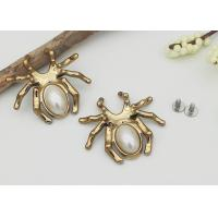 Wholesale Spider Pearl Decorative Rivet Heads Studs For Bag Shoes Clothes Decorations from china suppliers