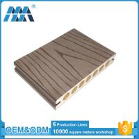 Wholesale Anti-slip Outdoor Engineered Wood plastic composite decking boards from china suppliers