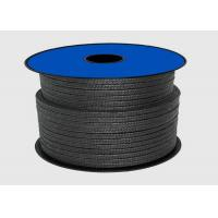 China Black Teflon PTFE Packing For Sealing Material / Graphite Gland Packing Rope on sale