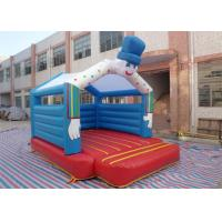 Wholesale Amazing Snowman Inflatable Bouncer , Mini Inflatable Bouncer For Kids from china suppliers