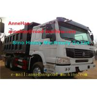 Wholesale EuroII 30T 6x4 Cat Dump Truck With Middle Lifting And Q235 Steel Material from china suppliers
