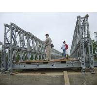 Wholesale Stability Timber Deck Bailey Bridge temporary For pedestrian , galvanized from china suppliers