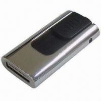 Wholesale Swivel USB Flash Drive with USB2.0, 2GB Memory Capacity, Available in Ten Colors from china suppliers