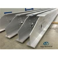 Quality Wide Range Finished Aluminium Construction Profiles 6063 Structural Aluminium Sections for sale