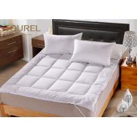 Wholesale White Queen Bed Mattress Protector For Hotel Hospital Spa Home from china suppliers