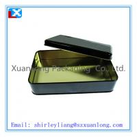 Wholesale High quality rectangular chocolate tin can from china suppliers