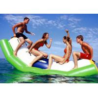 PVC Tarpaulin Inflatable Water Toys Seesaw Pool Float For Amusement Park