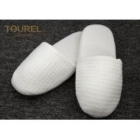 Wholesale EVA Sole Waffle Indoor Disposable Hotel Slippers With Custom Logo from china suppliers