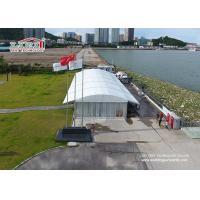 Wholesale 20m Width Aluminum Arcum Luxury Outside Wedding Tent With Glass Walls from china suppliers