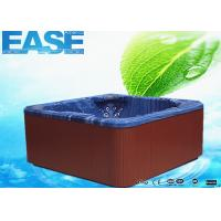 Quality Portable Acrylic Massage Outdoor Bathtubs with 1 Cooling Seat, 1220 Liters Water Capacity for sale