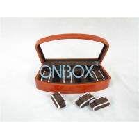 Wholesale Brown High Gloss Wooden Watch Collection Case With Luxury Adjustable Pillows from china suppliers