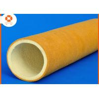Quality 600 Degree 2mm PBO And 4mm Kevlar Felt Roller Sleeve High Temperature Resistant for sale