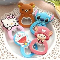 Wholesale Animal Shaped PVC Personalised Bottle Opener , Promotional Bottle Openers Gifts from china suppliers
