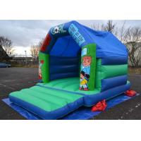 Wholesale 12x15 Football Kids Inflatable Bouncer Castle Used In Family Party from china suppliers